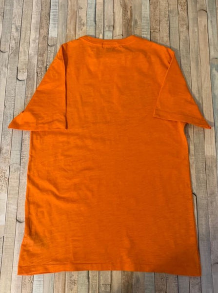 Polo Ralph Lauren Orange Bird T-Shirt Size L (14-16) - Nippers Preloved children's clothing