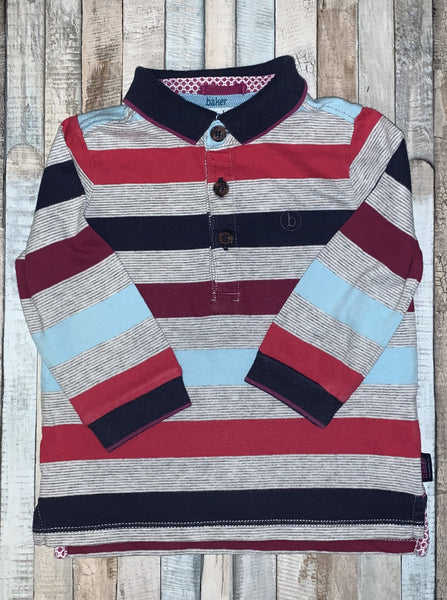 Ted Baker Striped Long Sleeve 9-12 Months - Nippers Preloved children's clothing