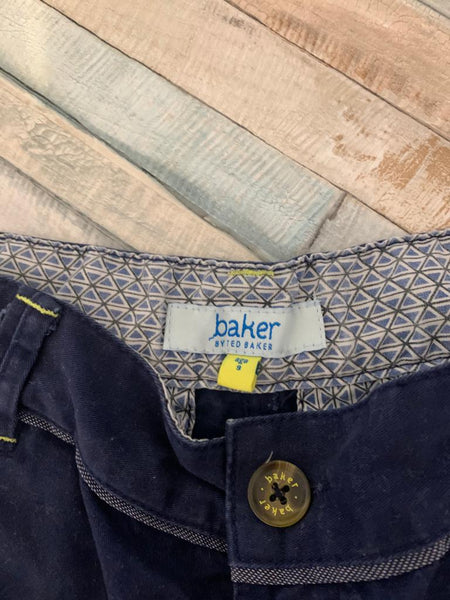 Ted Baker Blue Trousers Age 9 - Nippers Preloved children's clothing