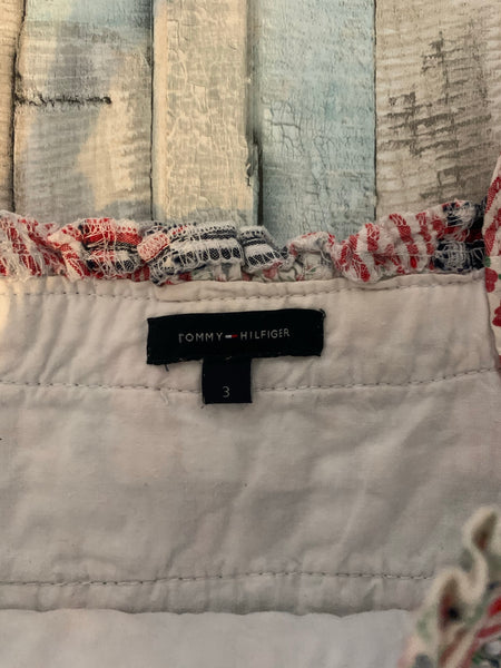 Tommy Hilfiger Patchwork Top Age 3 - Nippers Preloved children's clothing