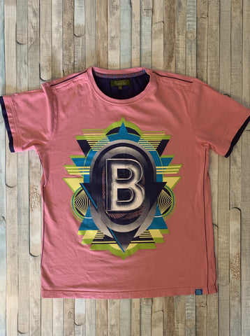 Baker By Ted Baker Pink T-Shirt Age 11-12 - Nippers Preloved children's clothing