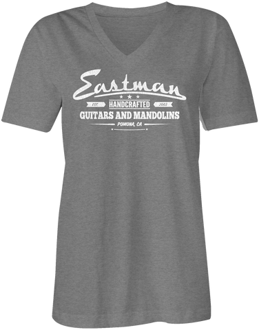 EASTMAN® Women's V-Neck Handcrafted T-Shirt