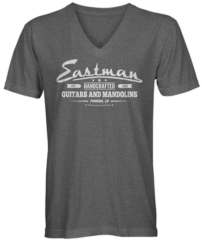 EASTMAN® Men's V-Neck Handcrafted T-Shirt