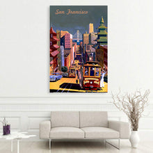 Load image into Gallery viewer, San Francisco Vintage Poster
