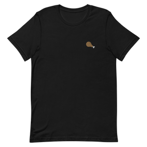 Fried Chicken Embroidered T-Shirt (Unisex Adult)