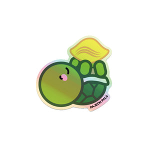 Turtle Chip Sticker