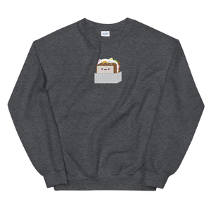 Korean Street Toast Sandwich Crewneck Sweater (Unisex Adult)