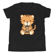 Load image into Gallery viewer, Bubble Tea Tiger Kids T-Shirt