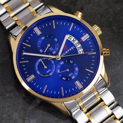 Fab Five watch Blue Face - 43MM