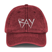 Load image into Gallery viewer, RAY Vintage Dad Hat