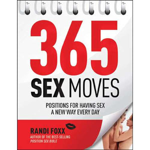 Assorted Books and Mags Books, Adult Games & Music 365 SEX MOVES (NET)