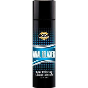 Body Action Products Anal Toys BODY ACTION ANAL RELAXER SILICONE LUBE 1.7OZ
