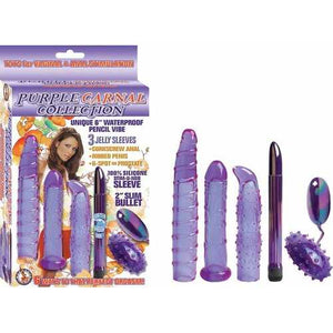 Nasstoys Vibrators CARNAL COLLECTION KIT PURPLE