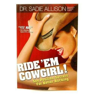 Tickle Kitty Books, Adult Games & Music RIDE EM COWGIRL SEX POSITION SECRETS