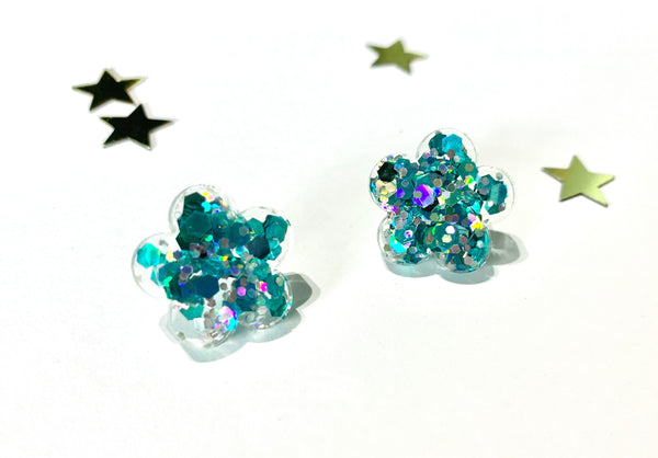 It's Britney Bloom Studs - Blue