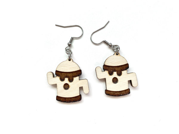 Animal Crossing Gyroid Earrings