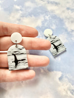 Loch Ness Monster Earrings