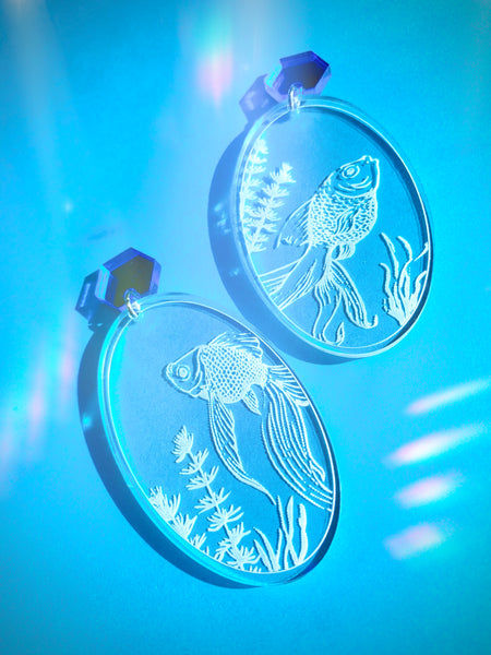 Aquatica Fish Earrings