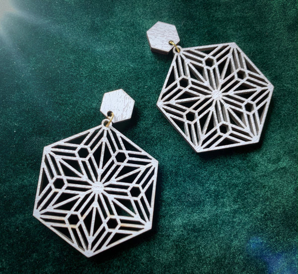 Kumiko Snowflake Earrings