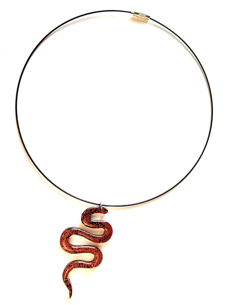 Ball Python Choker Necklace