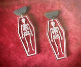 Ossifia Skeleton Earrings