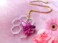 Pink Honey Necklace