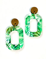 Tropicana Dangle Stud Earrings