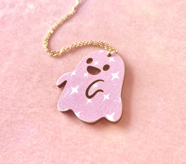 Blush Ghost Necklace