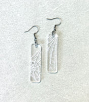 Spiderweb Bar Earrings