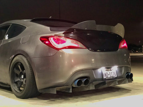 *2010 - 2016 Hyundai Genesis Coupe Wicker Bill Spoiler