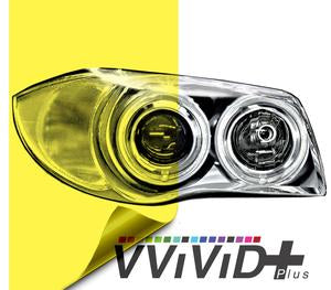 Headlight vinyl tint - yellow tint