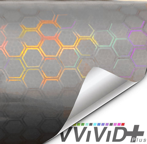 Headlight vinyl tint - neo chrome hex smoked