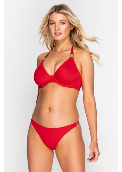 Boudoir Beach Crimson Red Bikini Brief