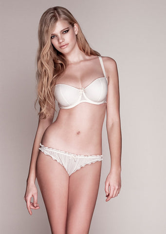 Sejal Ivory Ruffle Edge Brief