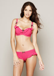 Gigi Hot Pink Padded Balconette Bra