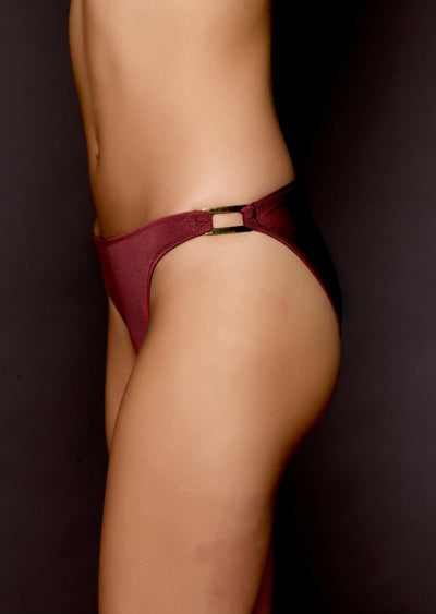 Malibu Tibetan Red Bikini Brief