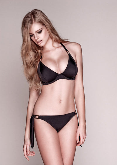 Boudoir Beach Black Tieside Bikini Brief