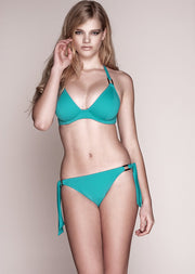 Boudoir Beach Turquoise Tieside Bikini Brief