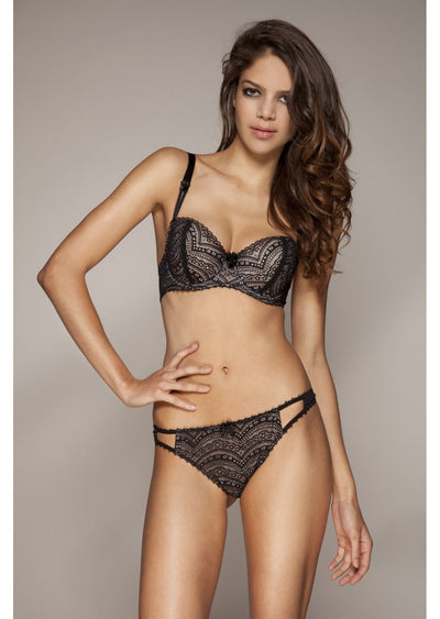 Dentelle Padded Balconette Bra