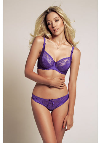 Amelie Ultra Violet Lace Brief