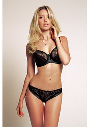 Amelie Black Lace Brief