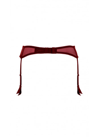 Amelie Red Suspender