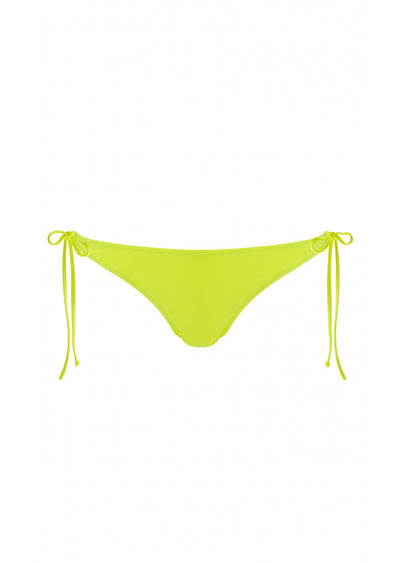 Los Angeles Fluoro Yellow Tieside Bikini Brief