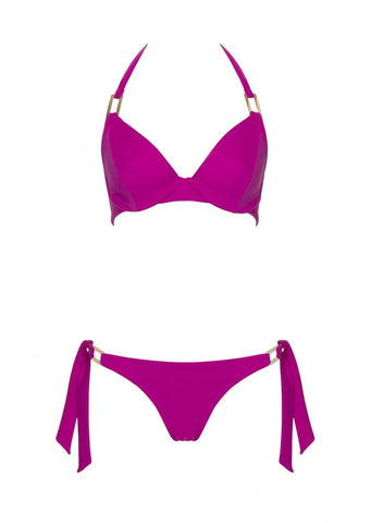 Boudoir Beach Magenta Tieside Bikini Brief