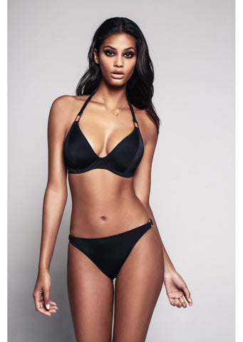 Boudoir Beach Black Bikini Brief