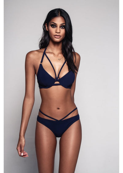 Icon Navy Ring Bikini Brief