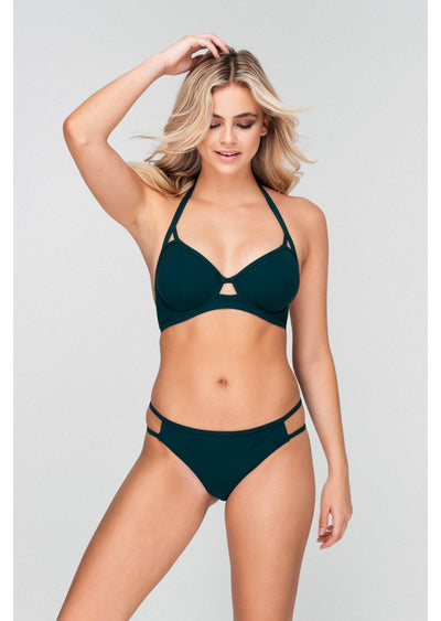 Icon Forest Green Bikini Brief