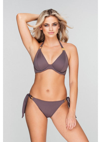 Boudoir Beach Rosewood Tieside Bikini Brief