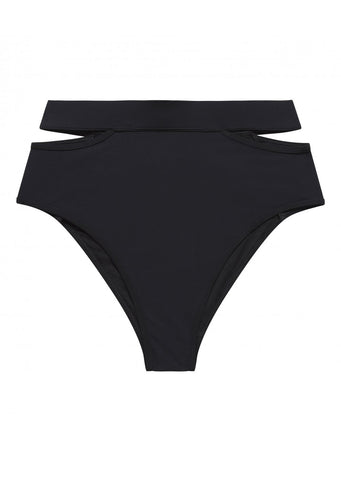 Icon Black Split Side Bikini Brief