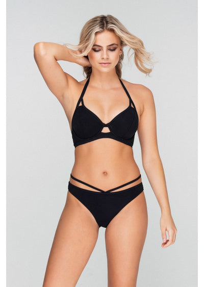 Icon Black Ring Bikini Brief